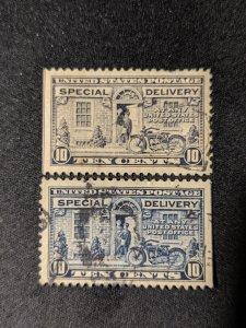 U.S. E12, 12a XF, CV $6.50