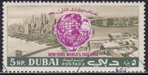Dubai 37 CTO 1964 New York World's Fair