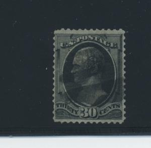 Scott #143 Hamilton Grill Used Grill Stamp with Crowe Cert (Stock #143-c4)