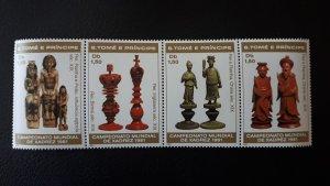 Sport - Chess - Sao Tome and Principe 1981./2 ** MNH complete set of 4