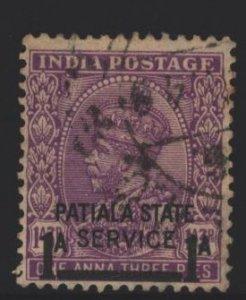 India Patiala Sc#O58 Used