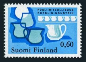Finland 541 block/4,MNH.Michel 741. Finnish porcelain,1973.Jug.