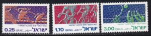 Israel # 564-566, 10th Hapoel Games, Set, NH