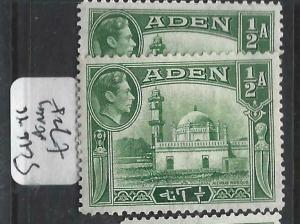 ADEN  (P0406B)  KGVI  1/2A  SG 16-16A    MOG