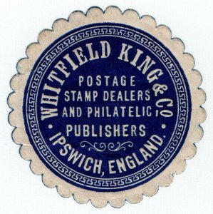 (I.B) Cinderella Collection : Whitfield King (Ipswich Stamp Dealers)