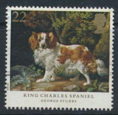 Great Britain SG 1531  Used  - Dogs George Stubbs Painting