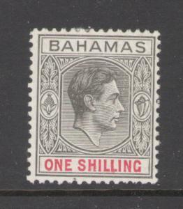 Bahamas 1938 King George VI  Scott # 110 MH