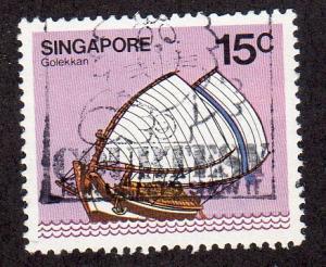 Singapore 339 - Used - Golekkan