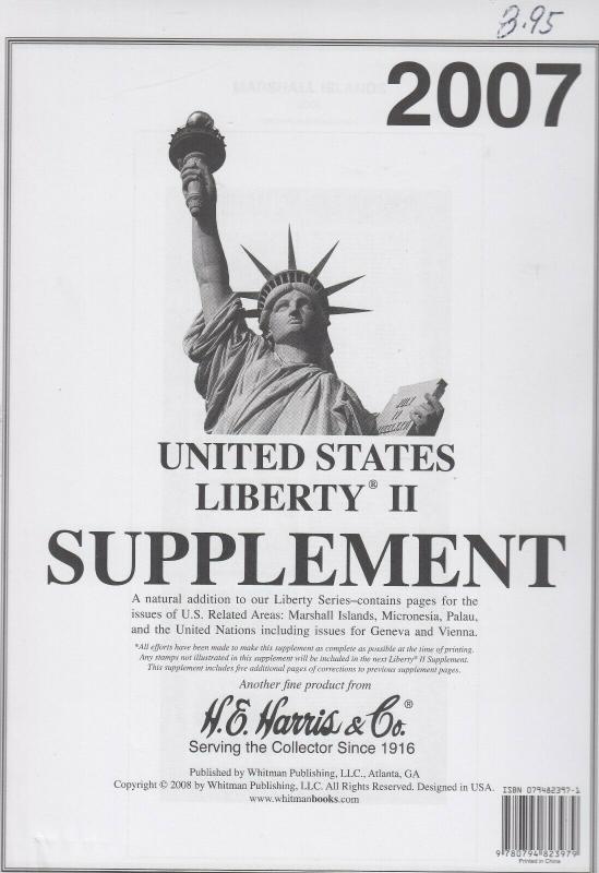 Harris 2007 Liberty I & II Supplement