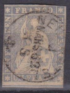 Switzerland #31 Fine Used CV $1000.00 (A8746)
