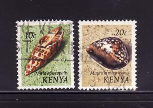 Kenya 37, 39 U Sea Shells (A)