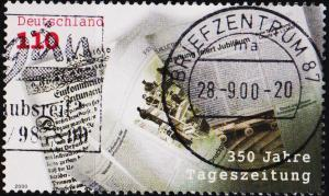 Germany. 2000 110pf S.G.2972 Fine Used