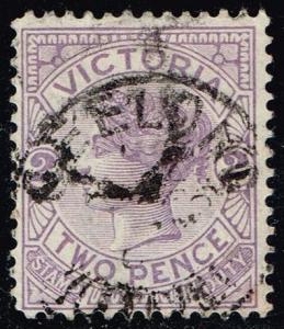 Australia-Victoria #162 Queen Victoria; Used (0.55)