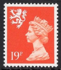 Great Britain Scotland  #SMH37  MNH  Q E II  19 p   Machin