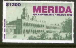 MEXICO 1716, 450th Anniv of the City of Merida. MINT, NH. F-VF.