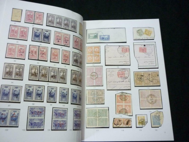 ISFILA AUCTION 1994 STAMPS AND POSTAL HISTORY OF TURKEY - OTTOMAN EMPIRE LEVANT