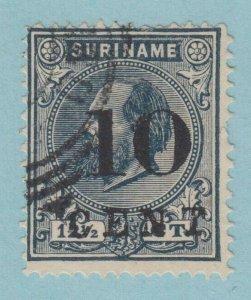 Suriname 31 D'Occasion N° Défauts Très Fine