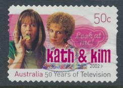 Australia  SC# 2581 Kath & Kim   50 Years of Television Used