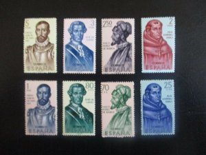 Spain #1187-94 Mint Never Hinged (N6T9) WDWPhilatelic