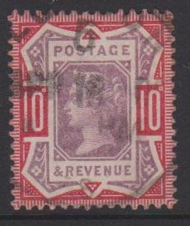 Great Britain QV Sc#121 Used