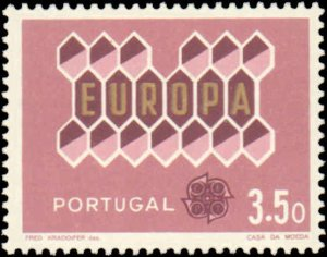 Portugal #895-897, Complete Set(3), 1962, Europa, Never Hinged
