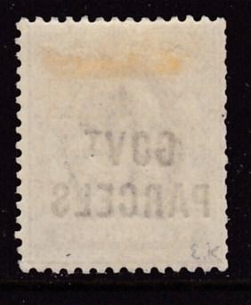 Great Britain 1902 KEVII Government Parcels 6d dull violet  F/VF/Mint(*)