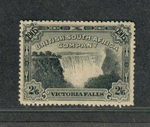 Rhodesia Sc#80 M/VF, Part OG Small Thin, Cv. $145