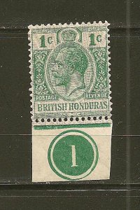 British Honduras 92 King George V Mint Hinged