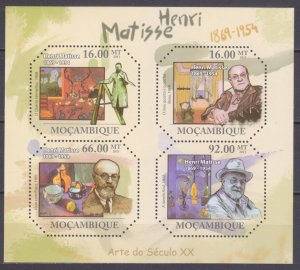 2011 Mozambique 4682-4685KL Artist/Henri Matisse 11,00 €