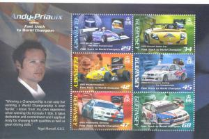 Guernsey 2006  transport car automobiles sport klb MNH