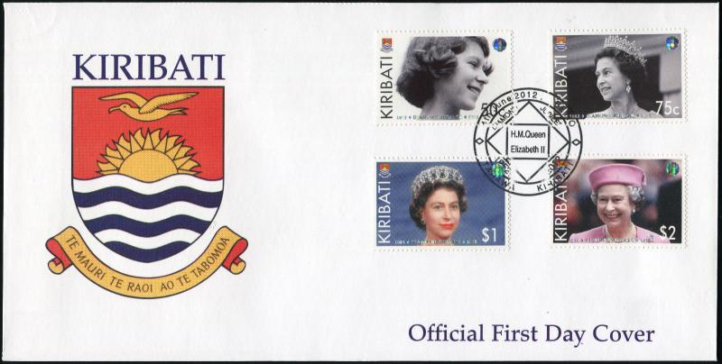 Kiribati. 2012. Queen's Diamond Jubilee (Mint) First Day Cover