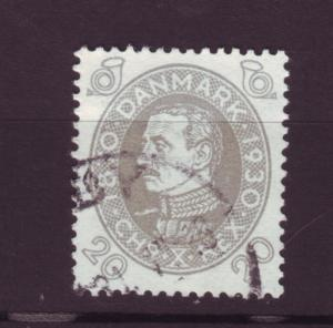 J3235 JL stamps 1930 denmark used #215 $9.75v king