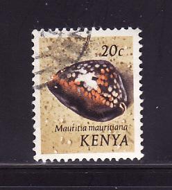 Kenya 39 U Sea Shells, Humpback Cowrie (A)