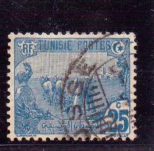 Tunisia  Scott#  39  Used