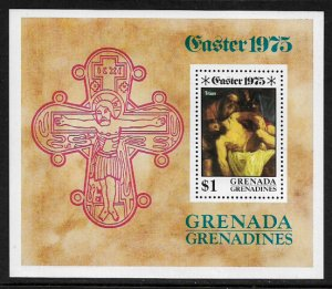 Grenada, Grenadines #66 MNH S/Sheet - Easter Painting