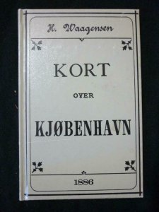 KORT OVER KJOBENHAVN - KJOBENHAVNS LOKALE KOMMUNIKATIONER by WAAGENSEN