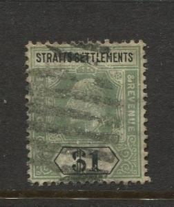 Straits Settlements #123 KEVII 1904 Wmk 3  CV$45.00.