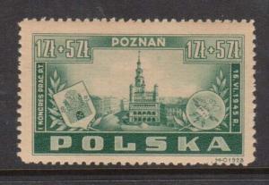 Poland #B40 VF/NH