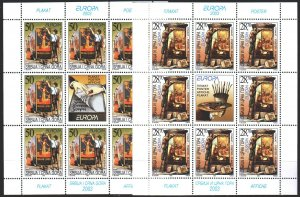 Yugoslavia. 2003. ml 3114-15. Posters, Europe-sept. MNH.