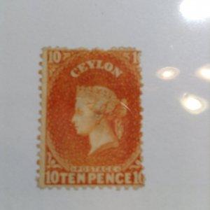 Ceylon  # 56b  MH