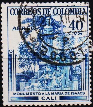 Colombia. 1954 40c S.G.796 Fine Used
