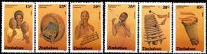 Zimbabwe - 1991 Musical Instruments Set MNH**SG 804-809