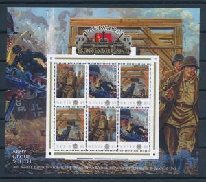 [81210] Nevis 2011 Second World war Operation Barbarossa Sheet MNH