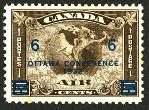 Canada #C4 MINT OG HR