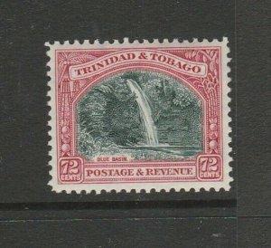 Trinidad & Tobago 1935/7 Defs P12, 72c MM SG 238