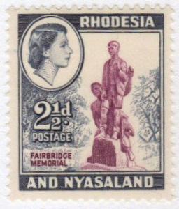 Rhodesia #161 MNH 2-1/2d memorial