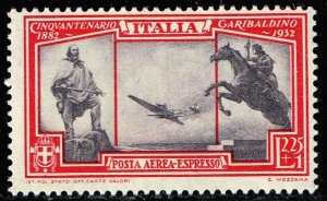 ITALY STAMP #CE1 1932 Airmail Express Stamp MH/OG