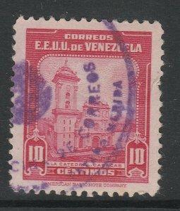 Venezuela 1947-48 10c used South America A4P53F40