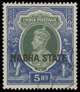 India / Nabha Scott 83 Gibbons 91 Used Stamp