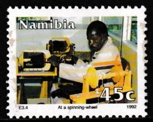 Namibia,  Sc 724,  MNH,  1992,  At A Spinning Wheel,  AA02401